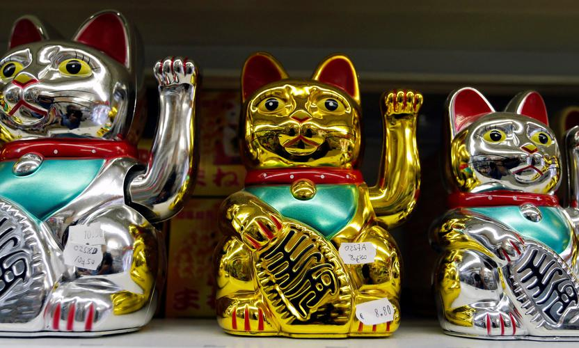 Products from China are displayed at a wholesale shop in Paris. REGIS DUVIGNAU/REUTERS