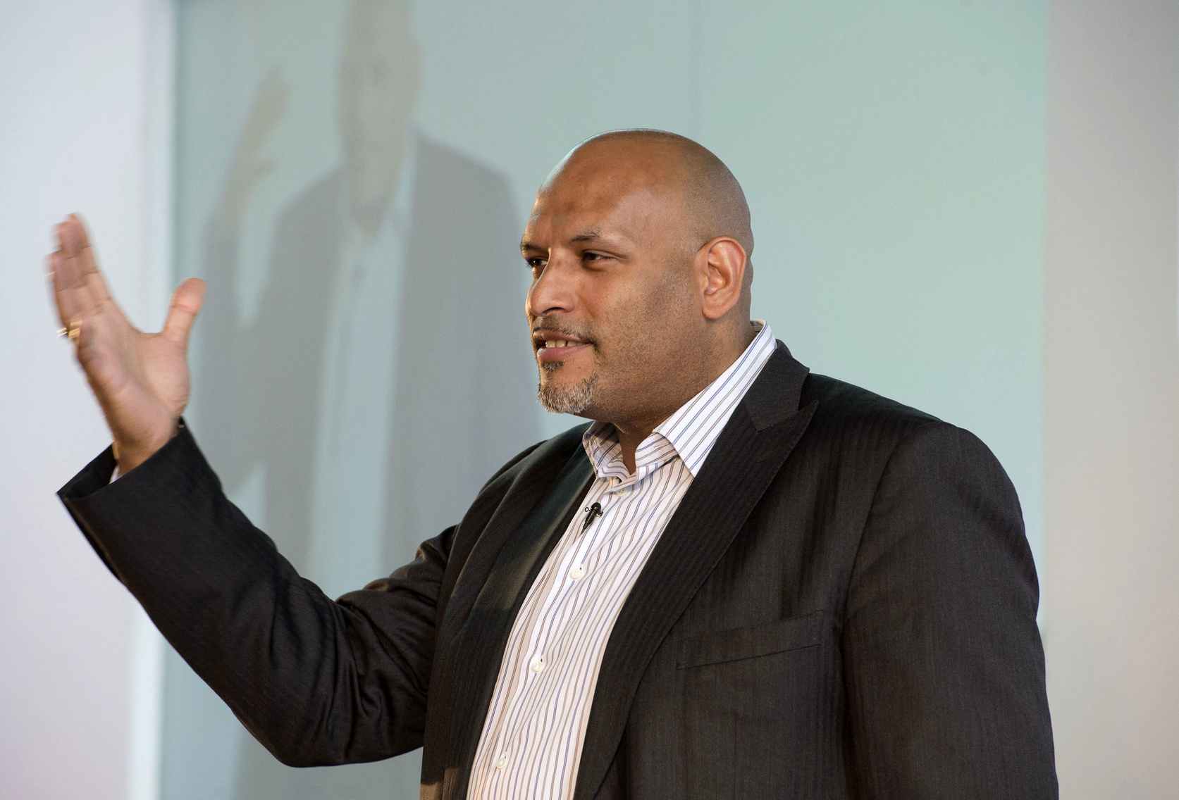 Former NBA pro and and psychologist John Amaechi gave a talk on the evidence around unconscious bias training.
