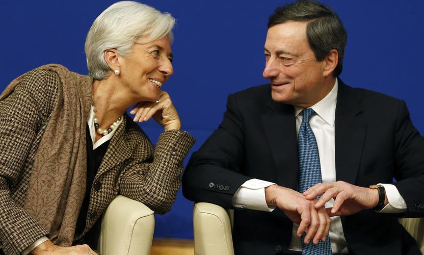 European Central Bank: Goodbye Mario, good luck Christine