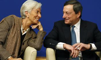 European Central Bank: Goodbye Mario, good luck Christine