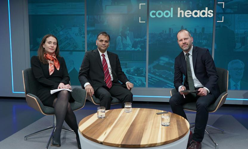 Cool Heads: Coronavirus hits global markets