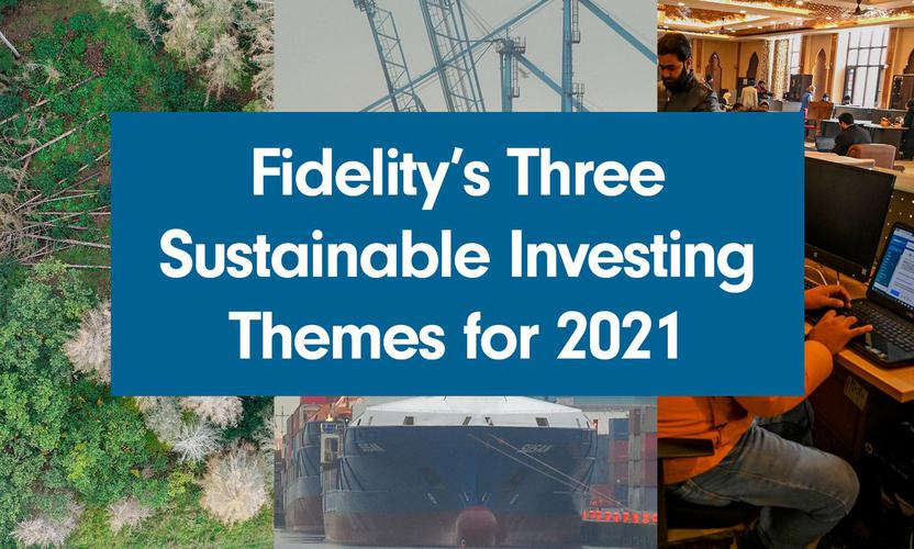 Fidelity's three sustainable investing themes for 2021