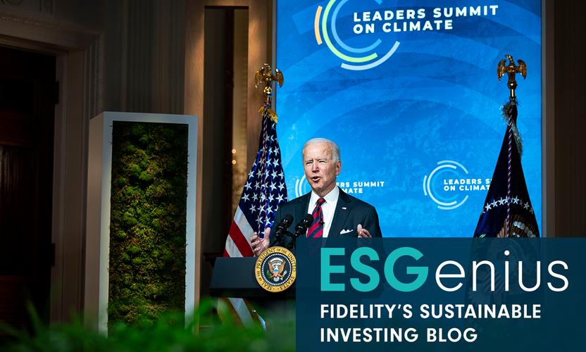 ESGenius: Biden's ambitious climate plans could transform the US bond market